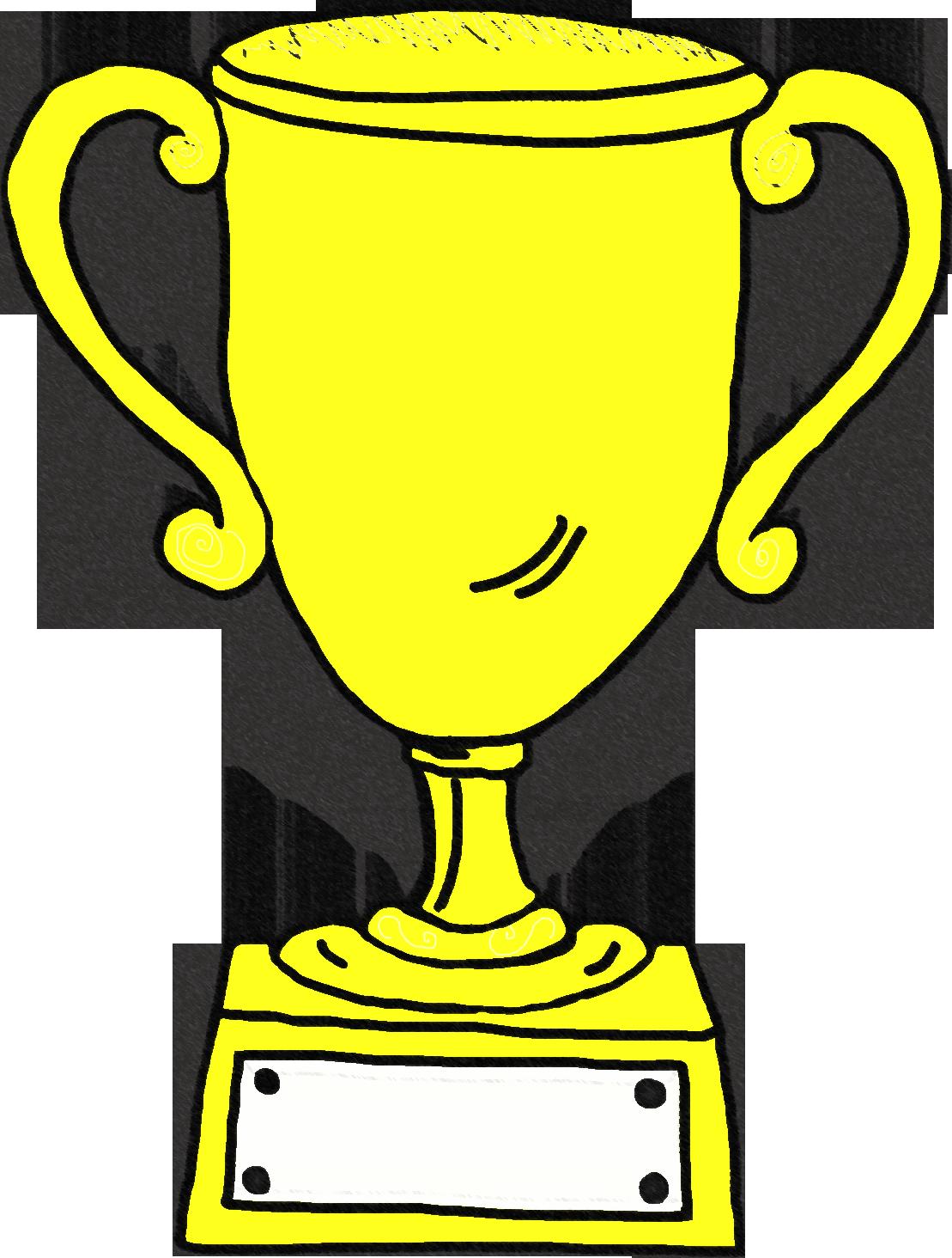1st place trophy clipart 2