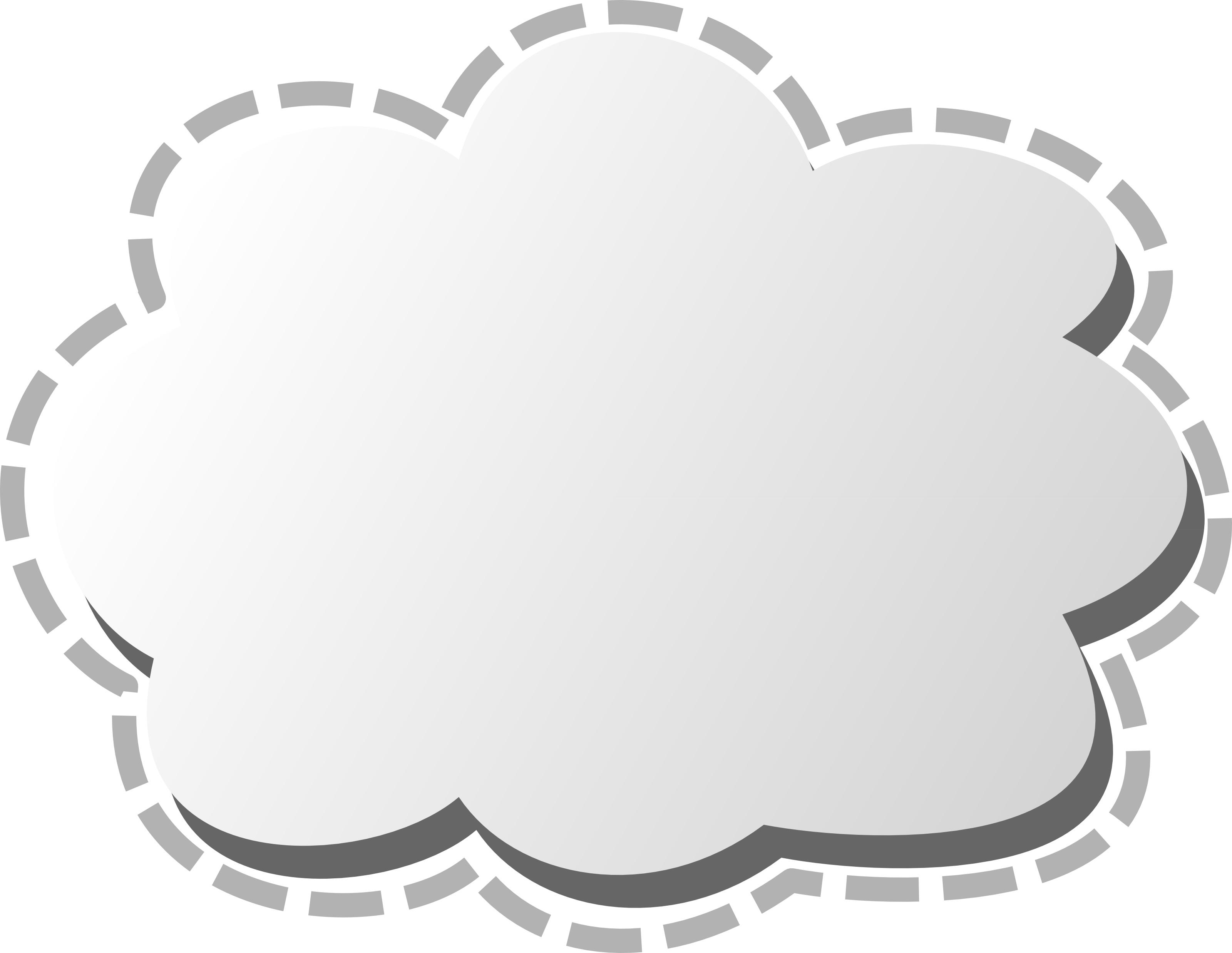 3d cloud clip art image