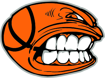 Angry basketball clipart free image
