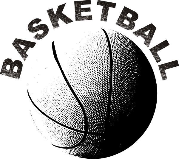 Basketball clip art vector free