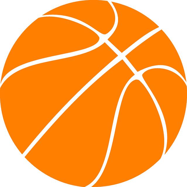 Basketball clipart vector