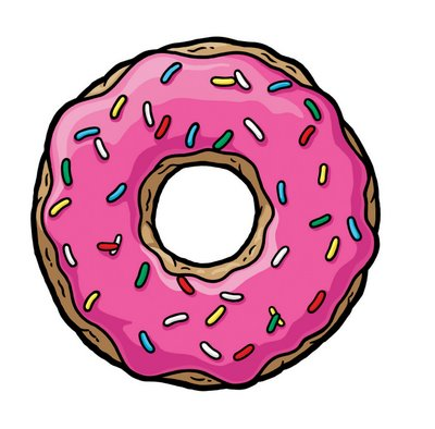Cartoon donut clipart free clip art images image
