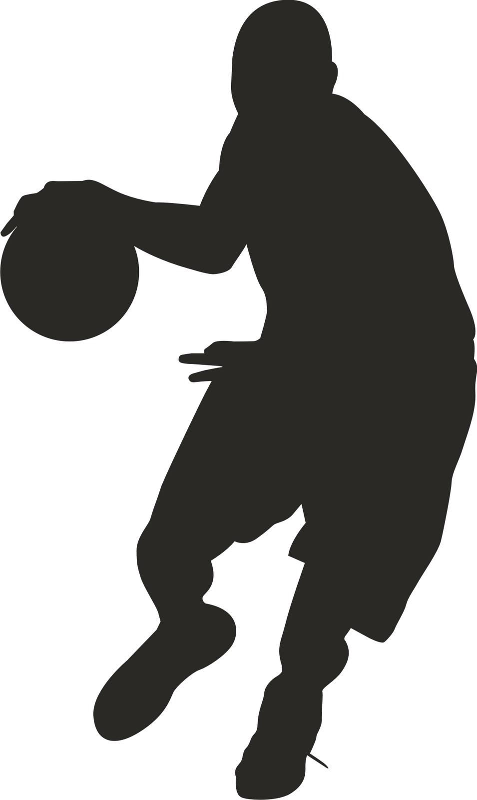 Clip art basketball clipart silhouette