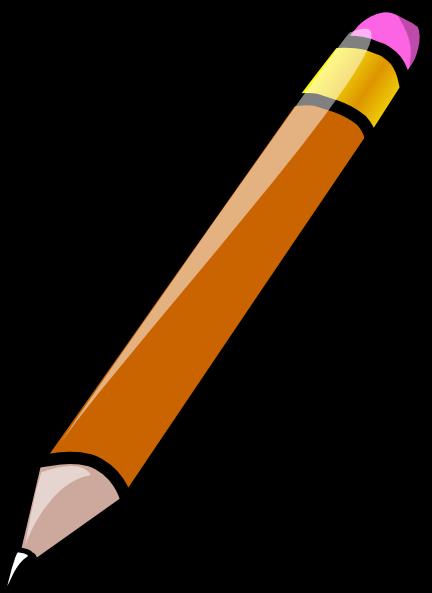 Crayon clip art pencil image