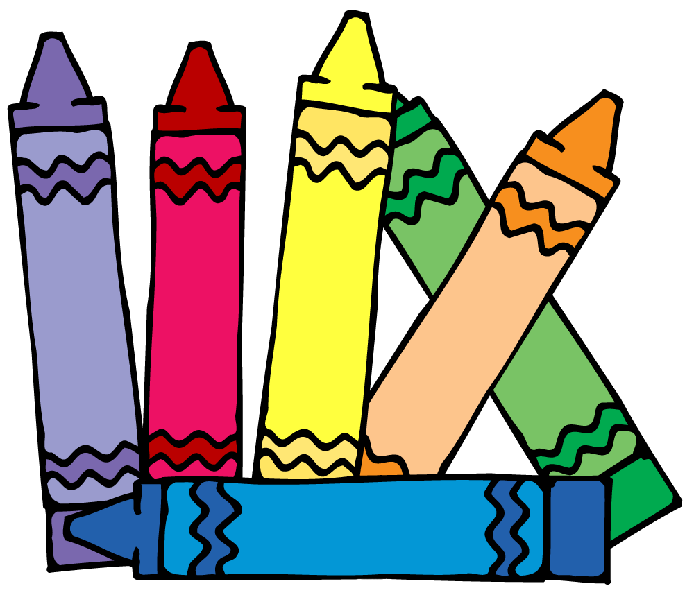 Crayon clipart free image