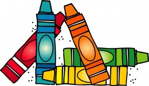 Crayons clip art free