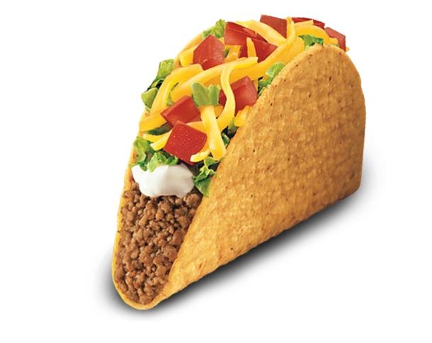 Crunchy taco clipart