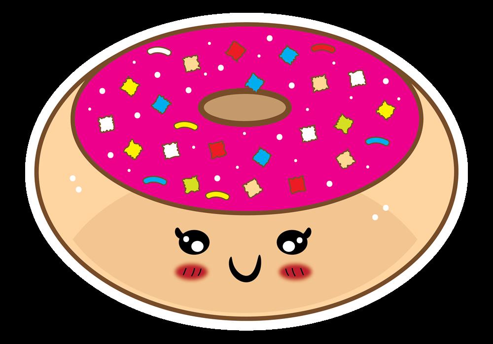 Cute donut clip art free