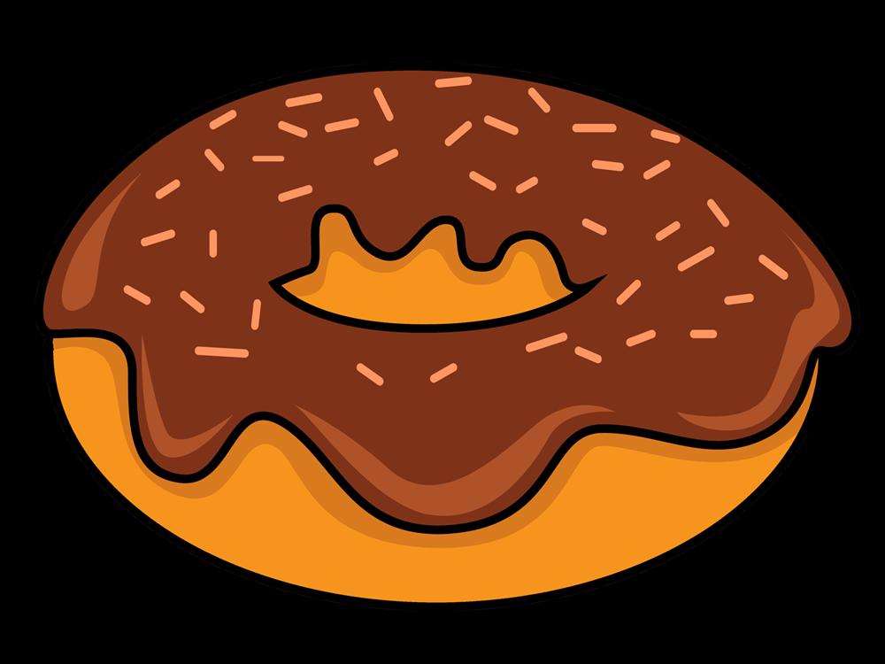 Donut clip art vector