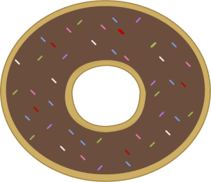 Donut clipart free clip art image