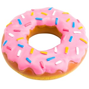Donut clipart pink
