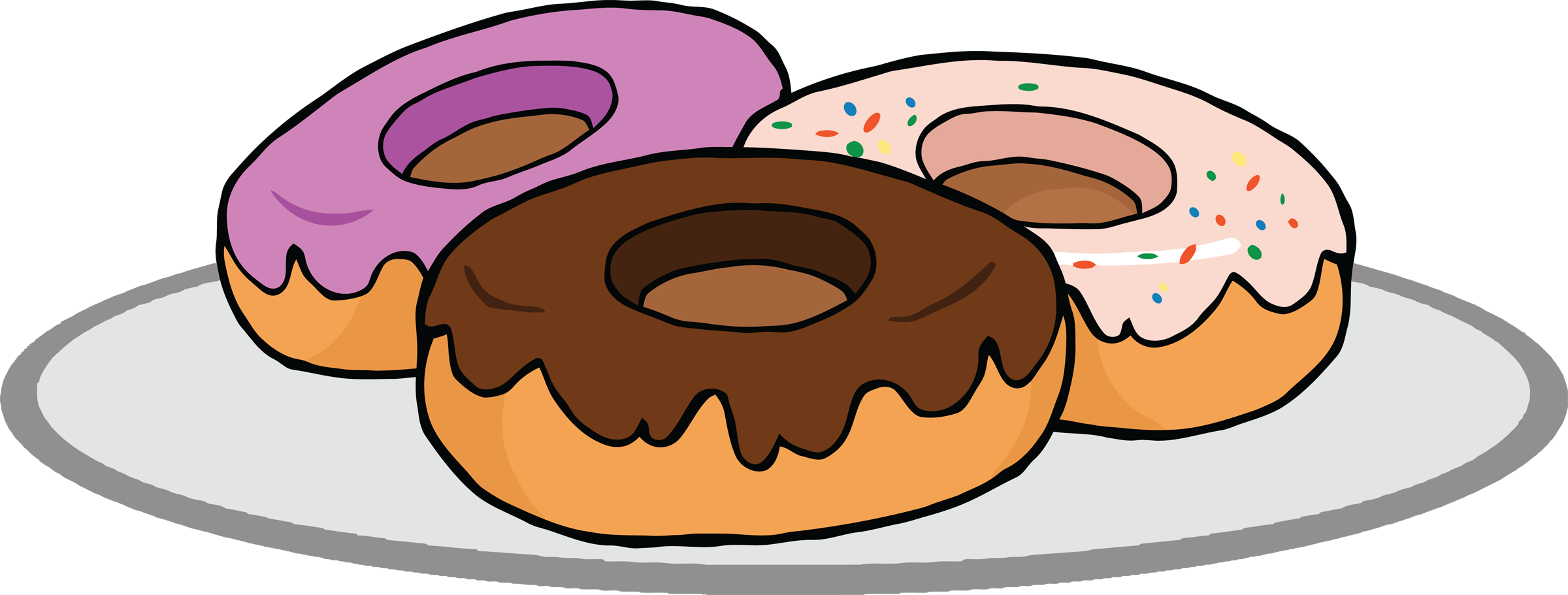 Donut Clipart Vector Wikiclipart