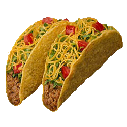 Double taco clipart free images