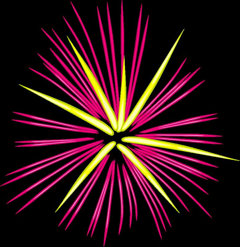 Fireworks clip art fireworks free