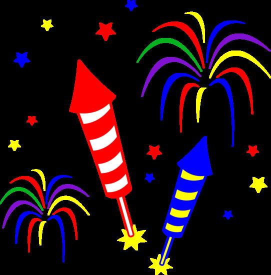 Fireworks clip art fireworks image