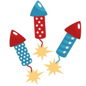 Fireworks firework clipart rocket