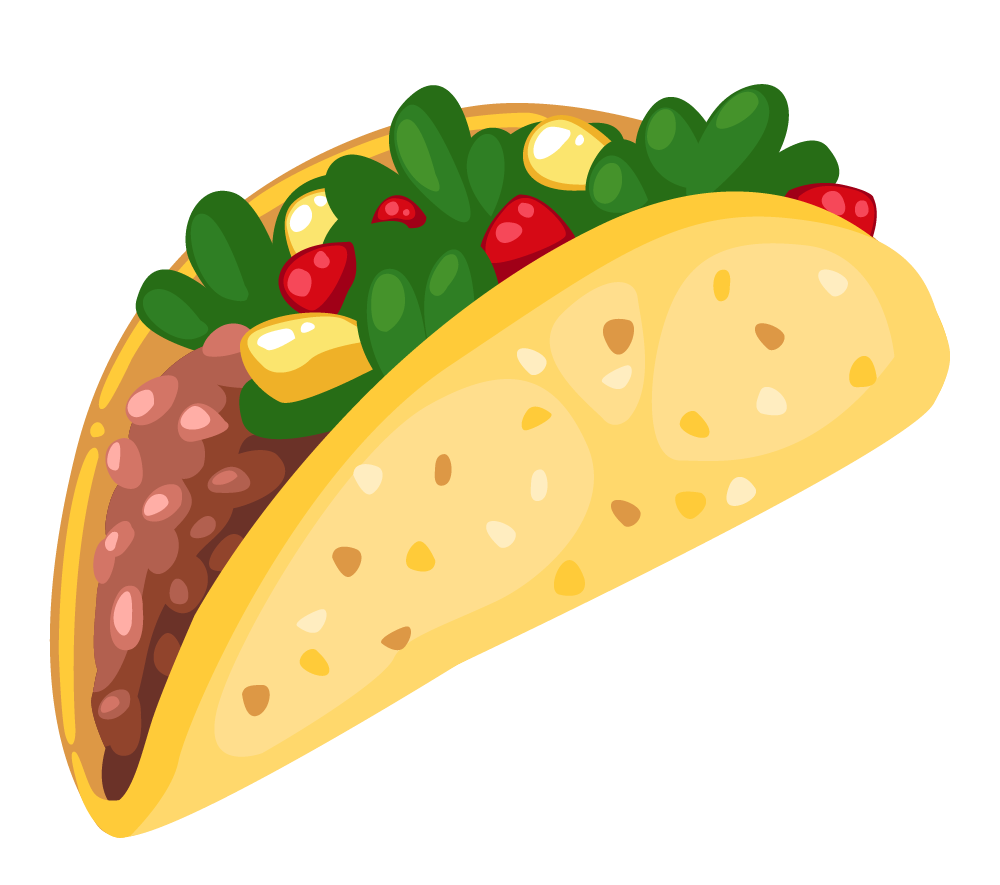 Free taco clipart images