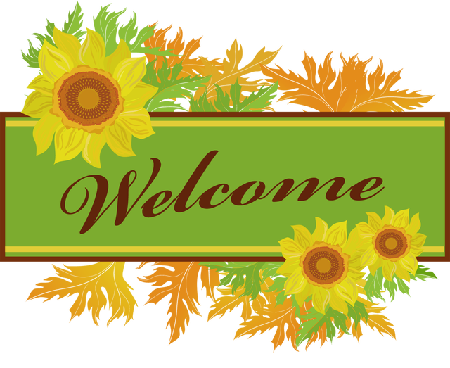 Free welcome graphic clipart