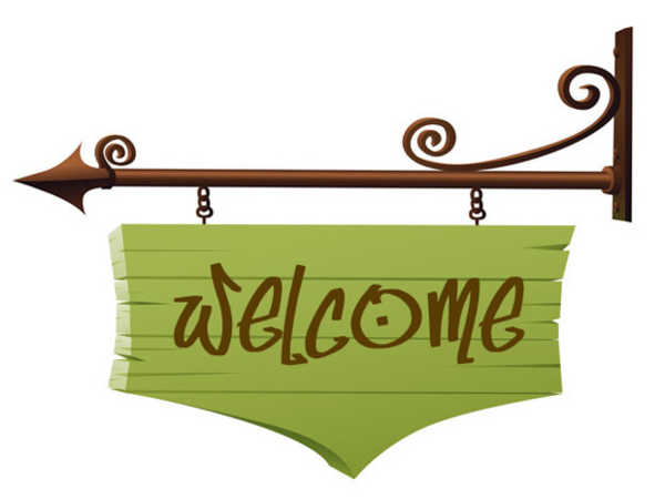 Free welcome graphics clipart