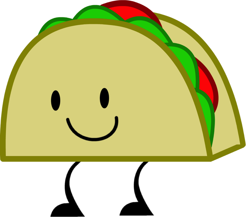 Funny taco clipart images