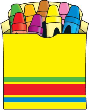 Kids crayon cartoon clipart