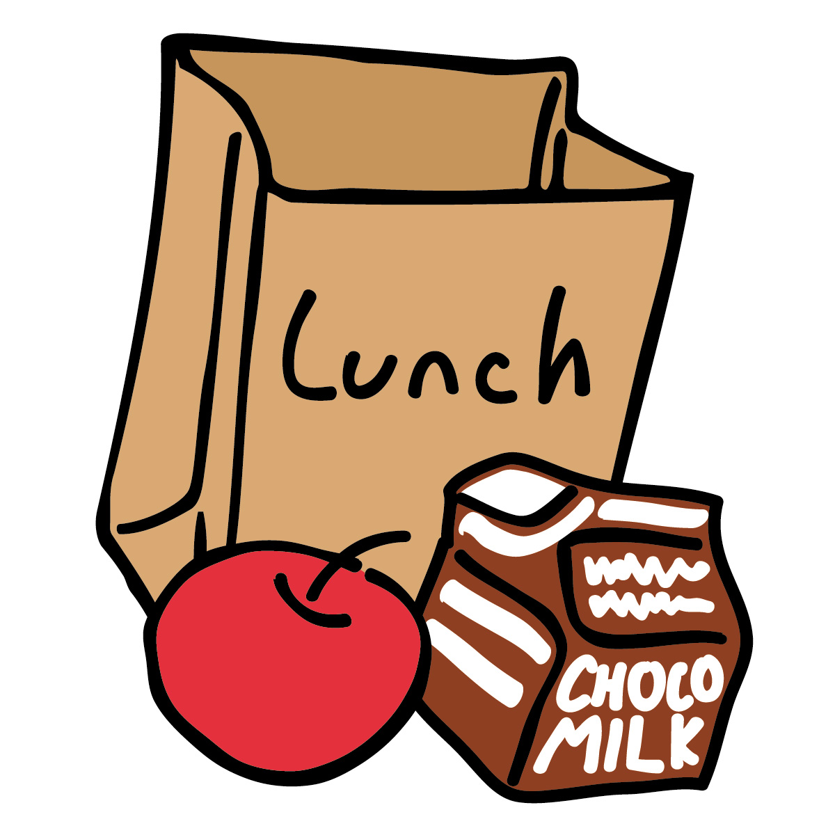 Lunch clip art free clipart image