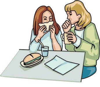 Lunch clip art free image