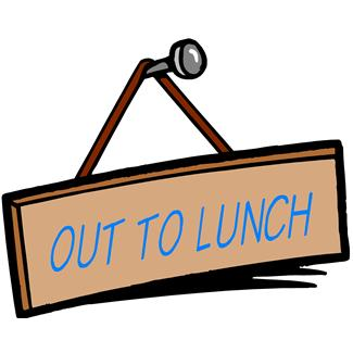 Out to lunch clipart free images