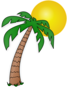 Palm tree clipart printable free clipart images
