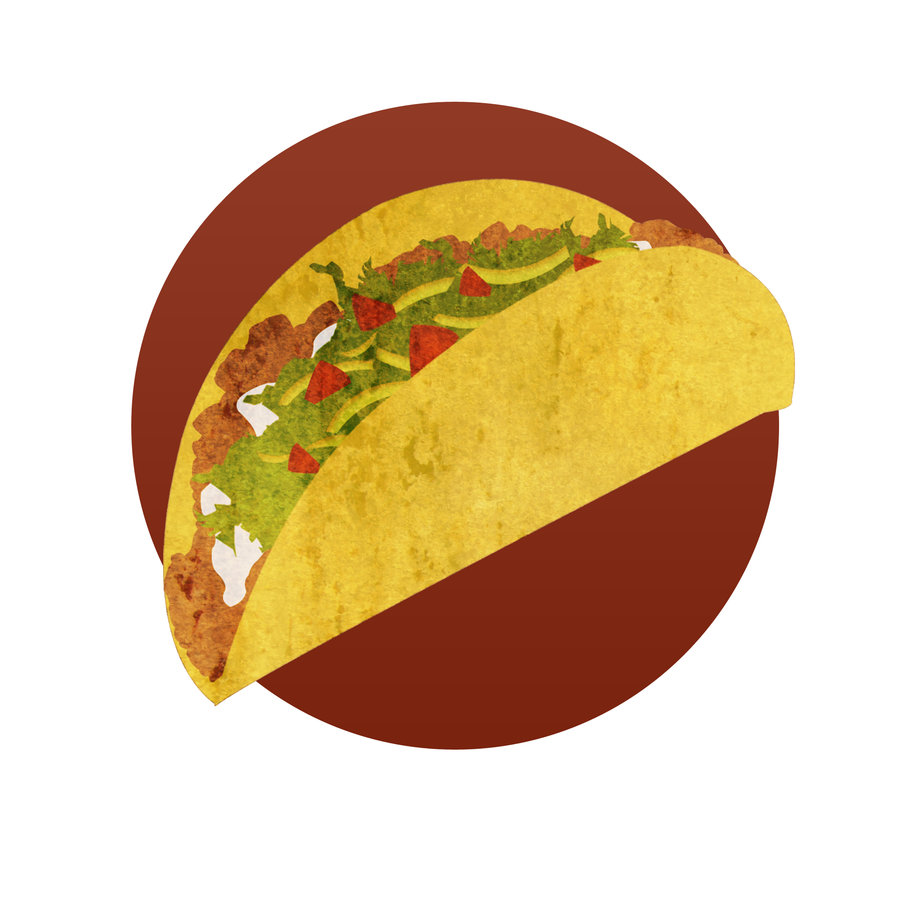 Real taco clipart images vector
