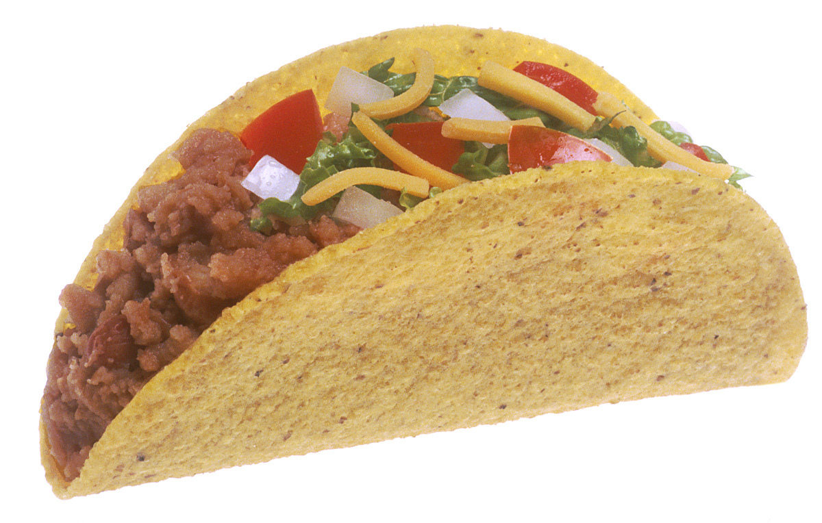 Real taco clipart