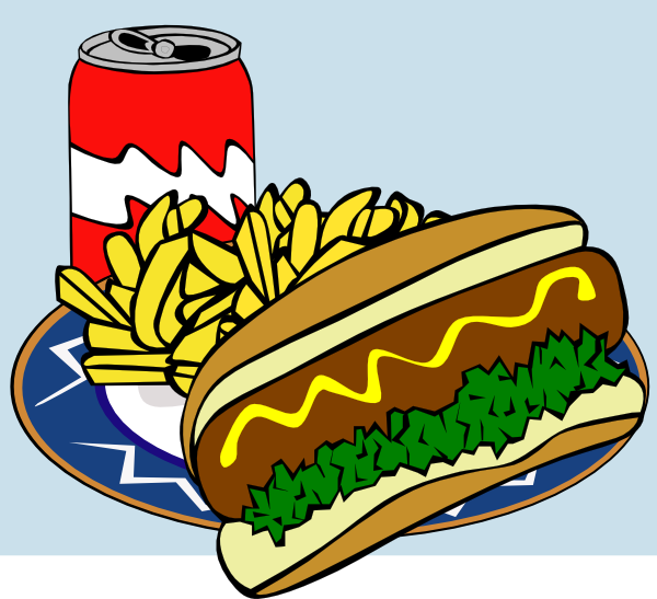 School lunch clip art 2
