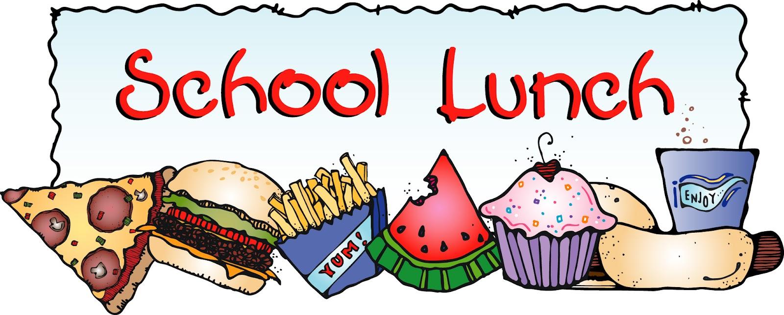 School lunch clip art free