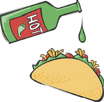 Taco clip art clipart hot