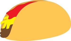 Taco clip art clipart vector