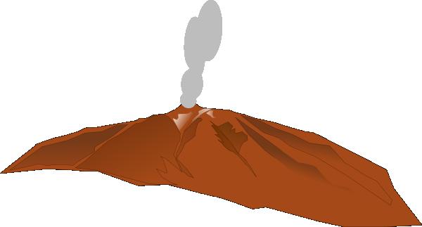 Volcano clipart free clip art
