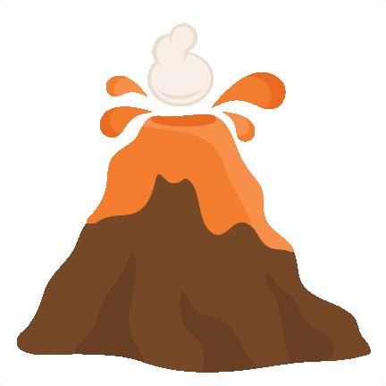 Volcano clipart free volcano image