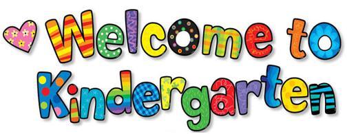 Welcome clipart kindergarten