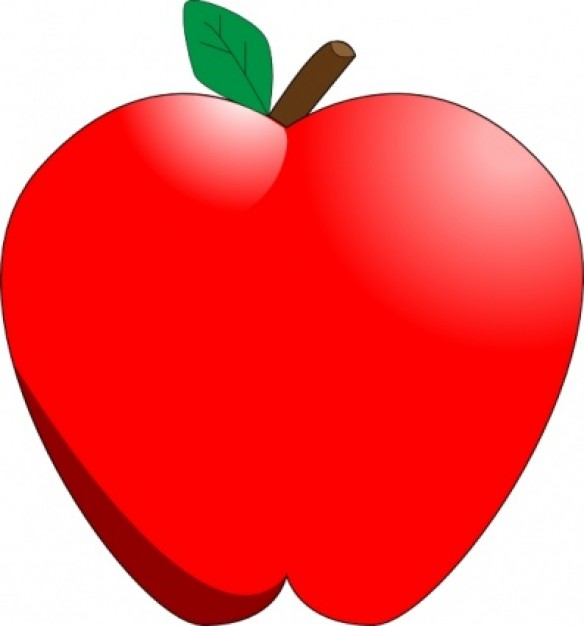 apple clipart picture