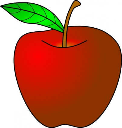 apple free downloads clipart red