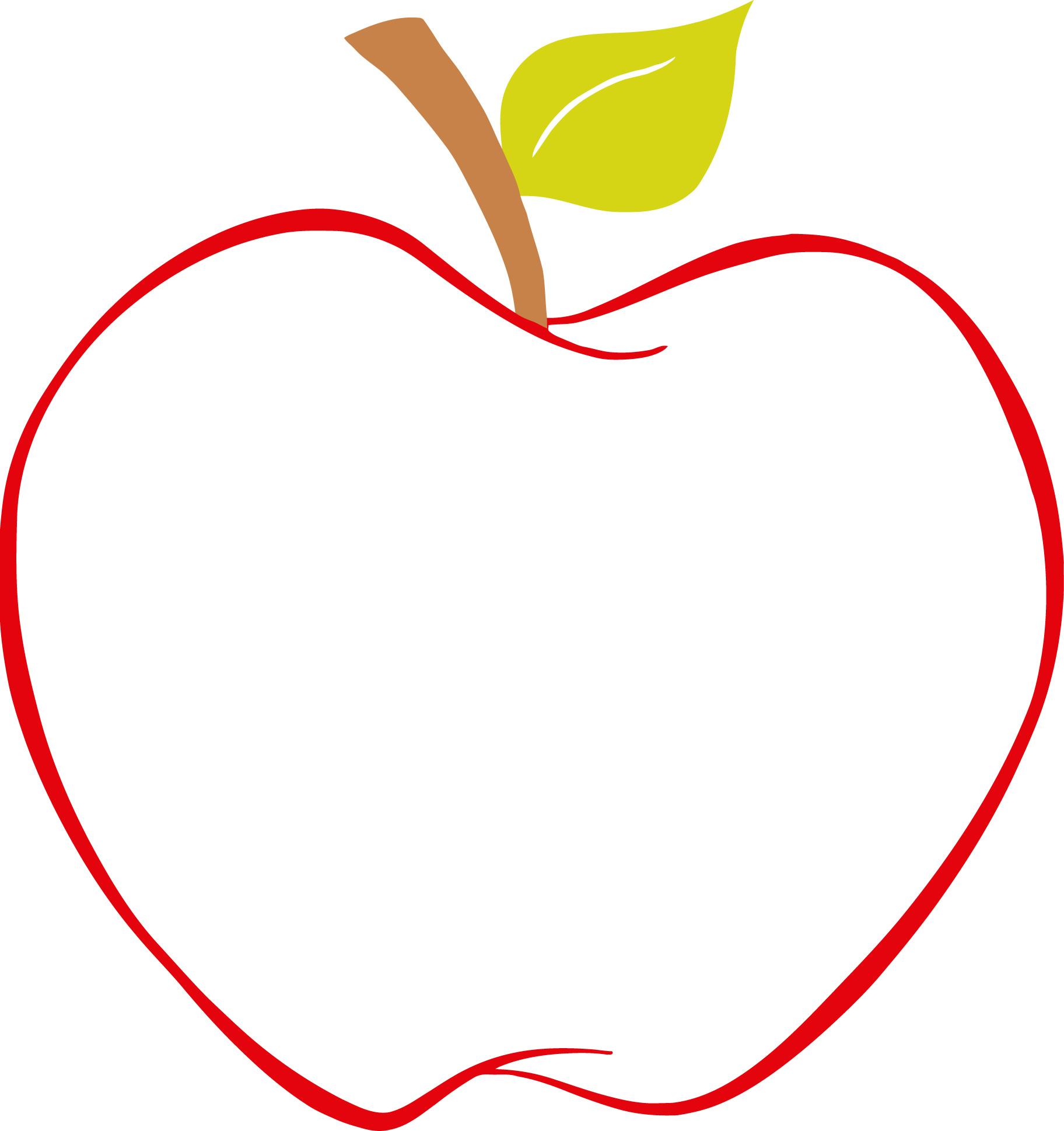 best apple clipart