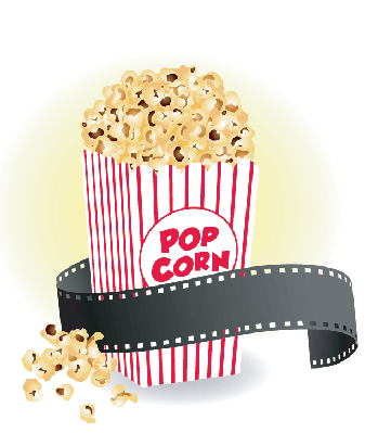 cartoon popcorn clip art graphics clipart icon