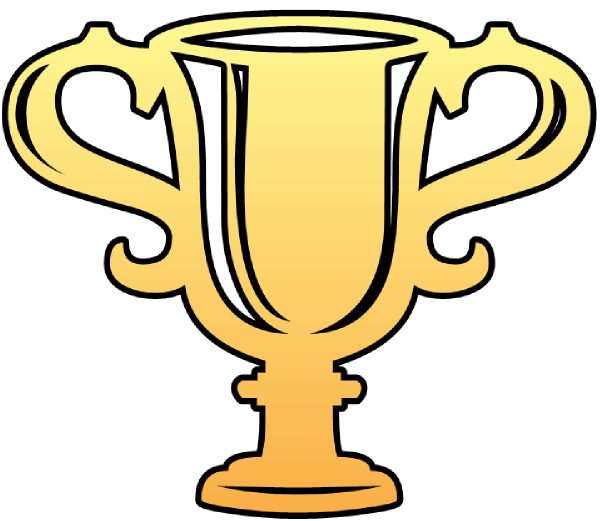 cartoon trophy clipart cup