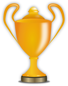cartoon trophy clipart free