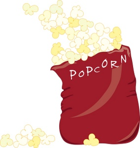 clip art bowl of popcorn clipart image 2 3