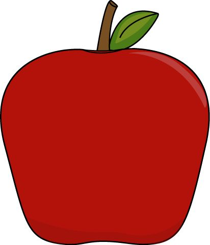 cute apple clip art free clipart images