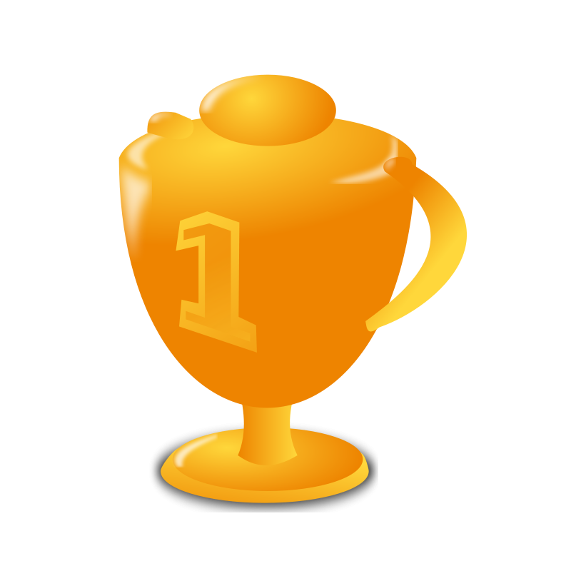 cute trophy clipart