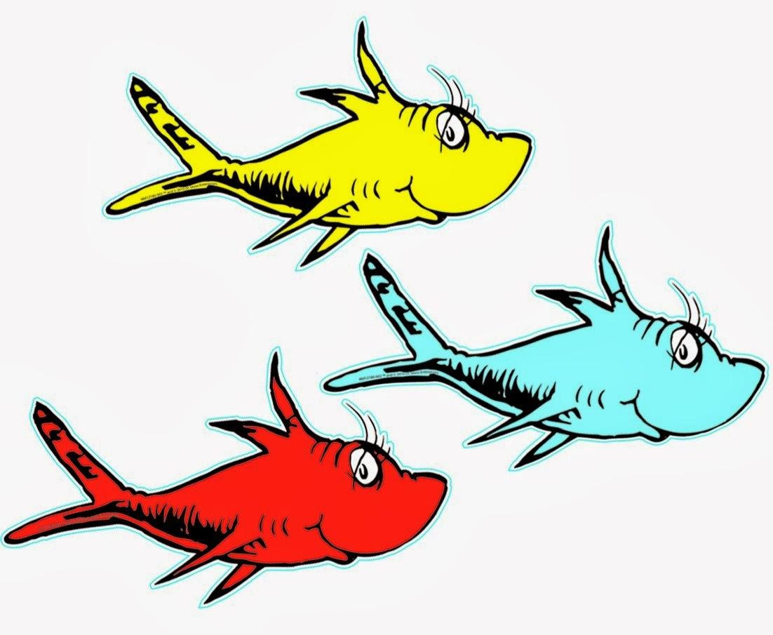 dr seuss clip art fish free clipart images