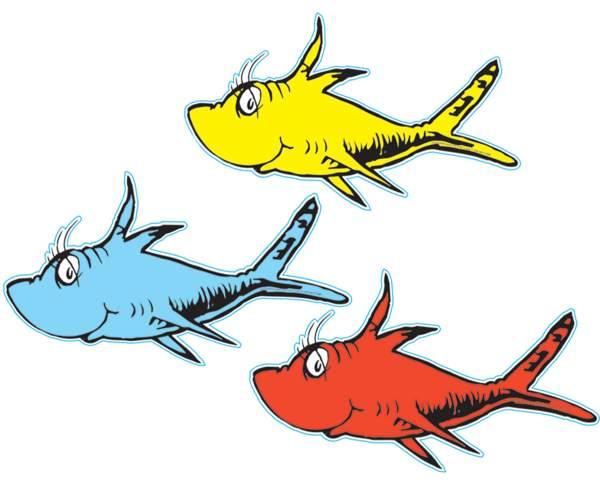 dr seuss hat fish clipart free clip art images image 4 2