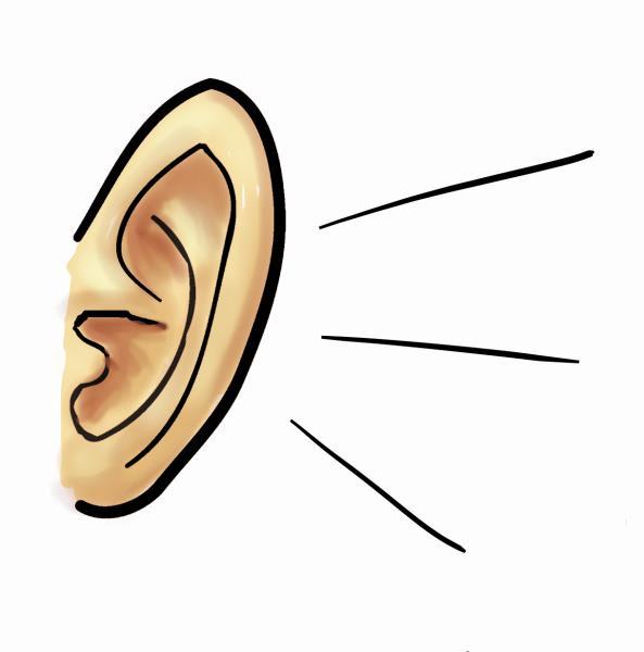 ear clipart clip art free borders image 5